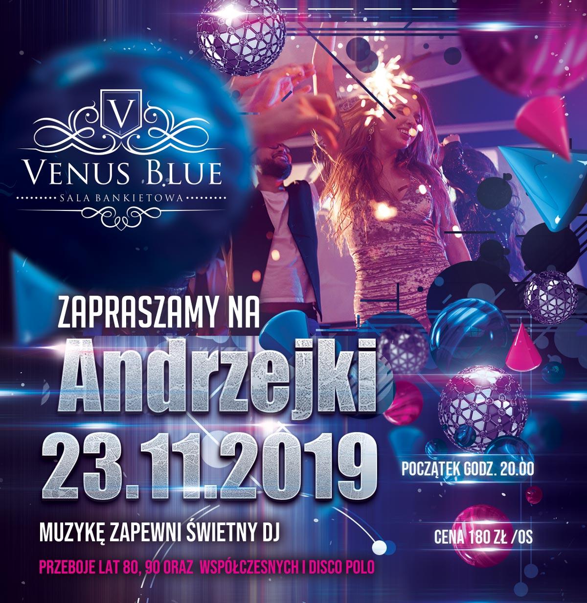 Andrzejki 2019 Venus Blue